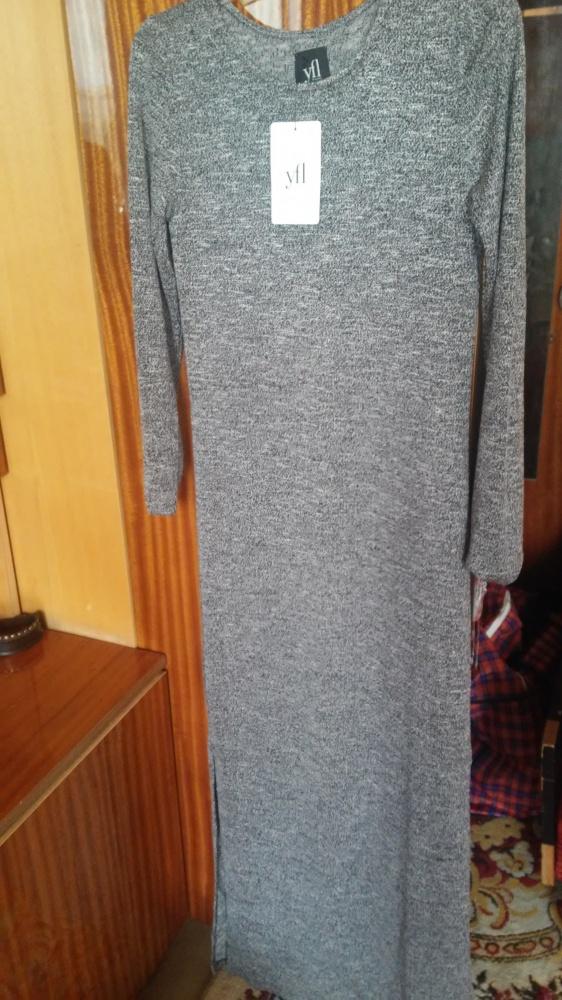 Sukienka dzianinowa MAXI MELANZ 36...