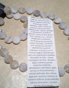 Piękny zestaw prezentowy kamień naturalny Agat Promocja...