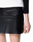Zara spódnica skóra naturalna 38...
