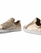 Kazar sneakersy złote nowe 39
