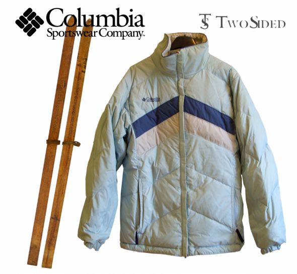 dwustronna kurtka narciarska Columbia...