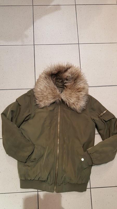 Odzież wierzchnia Bomberka khaki new look 8 s