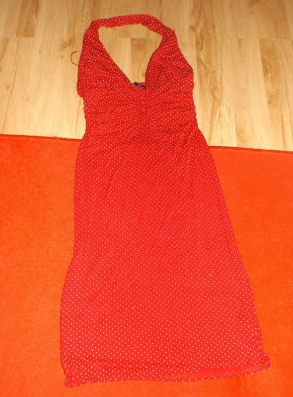 Czerwona sukienka River Island M...