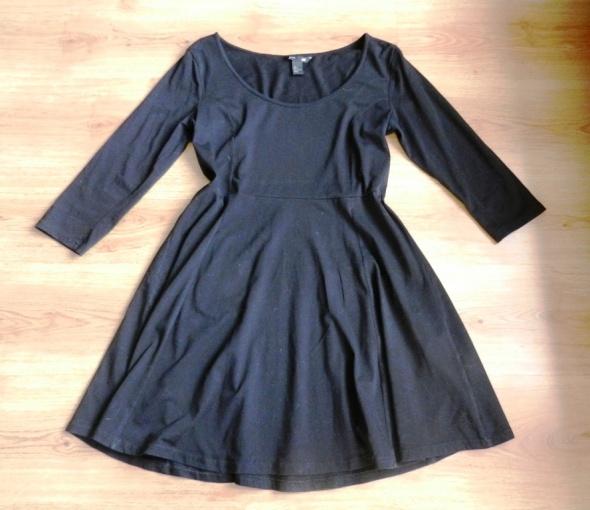a34c5ab57f Suknie i sukienki Sukienka czarna klasyczna bawełna bawełniana H M 4
