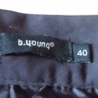 Spódnica czarno granatowo biała kolorowa wzór 40 L