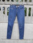 Jeansy Spodnie 36 S rurki stan Idealny...