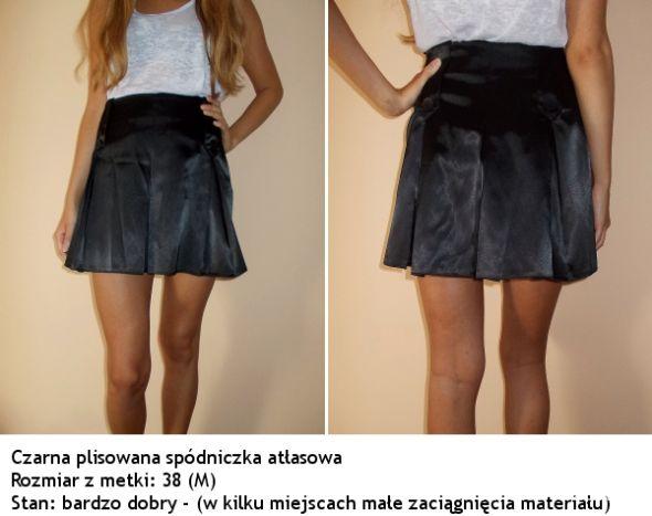 Dresowa SPÓDNICZKA SZARA PLISOWANA ZIP spódnica M Zdjęcie