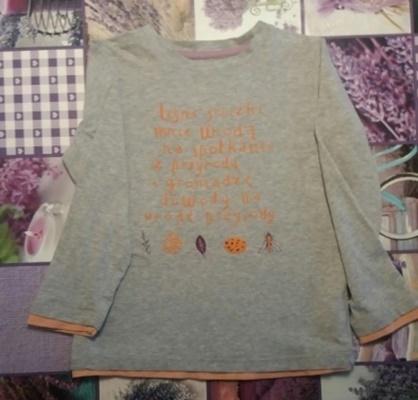 Bawelniana bluzeczka 134140146