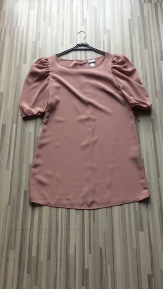 Sliczna nowa sukienka h&m pudrowy róż
