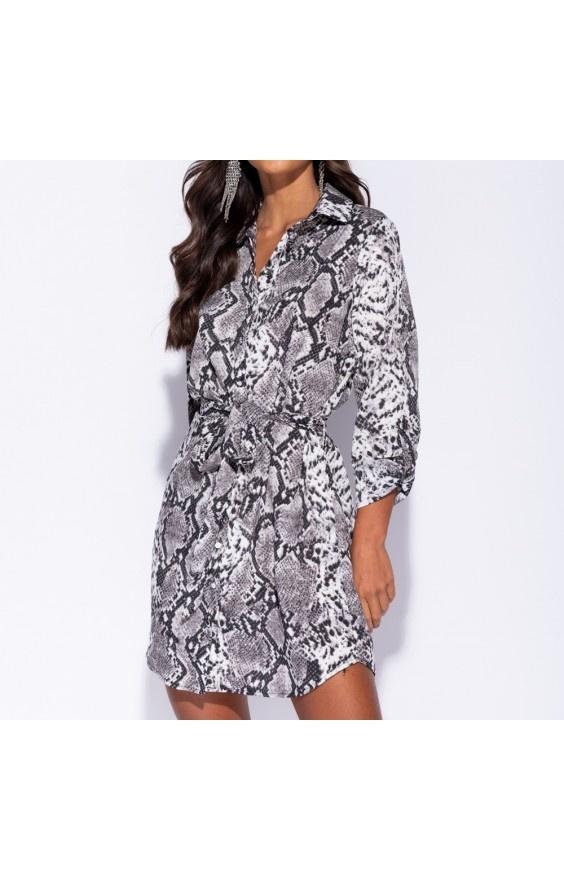 348700298f Parisian Tunika Sukienka Koszulowa Print w Suknie i sukienki - Szafa.pl