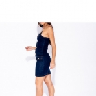Sukienka Parisian Mini Jeansowa Bodycon Łańcuszki