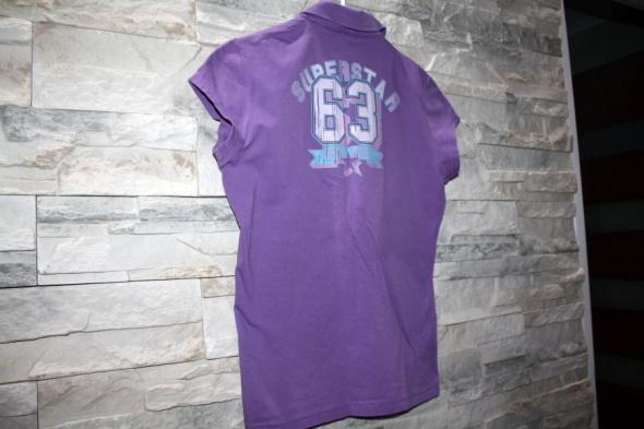 Koszulka bluzka polo nadruk...