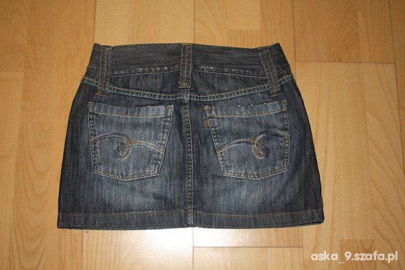 Spódnica jeansowa mini Vertus...