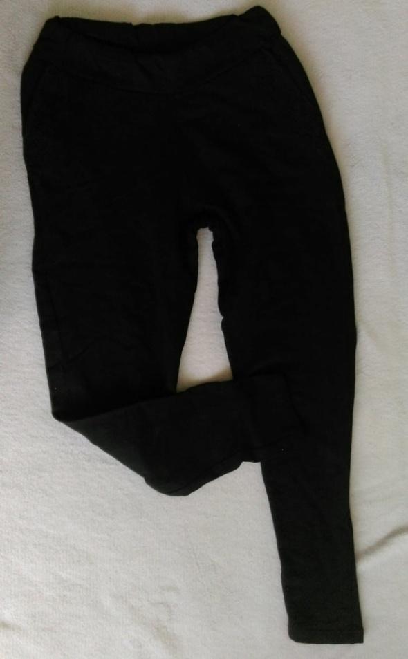 eleganckie czarne dresowe...