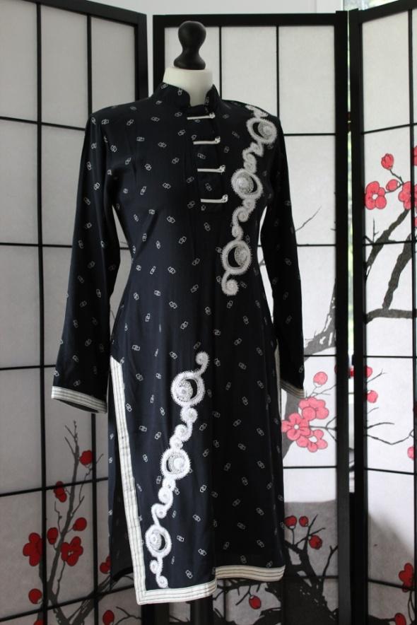 9fa6188ddb sukienka orientalna japońska japan style w Suknie i sukienki - Szafa.pl