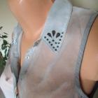świetna koszula bluzka mgiełka kołnierzyk dżety kolory S M L
