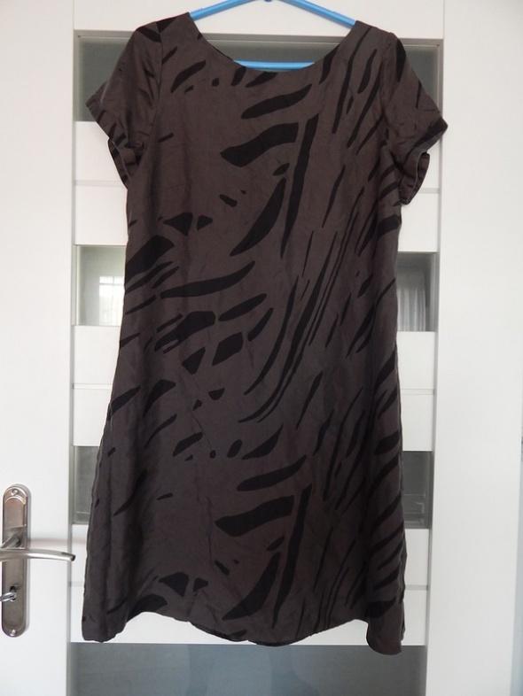 szara tuniko sukienka...