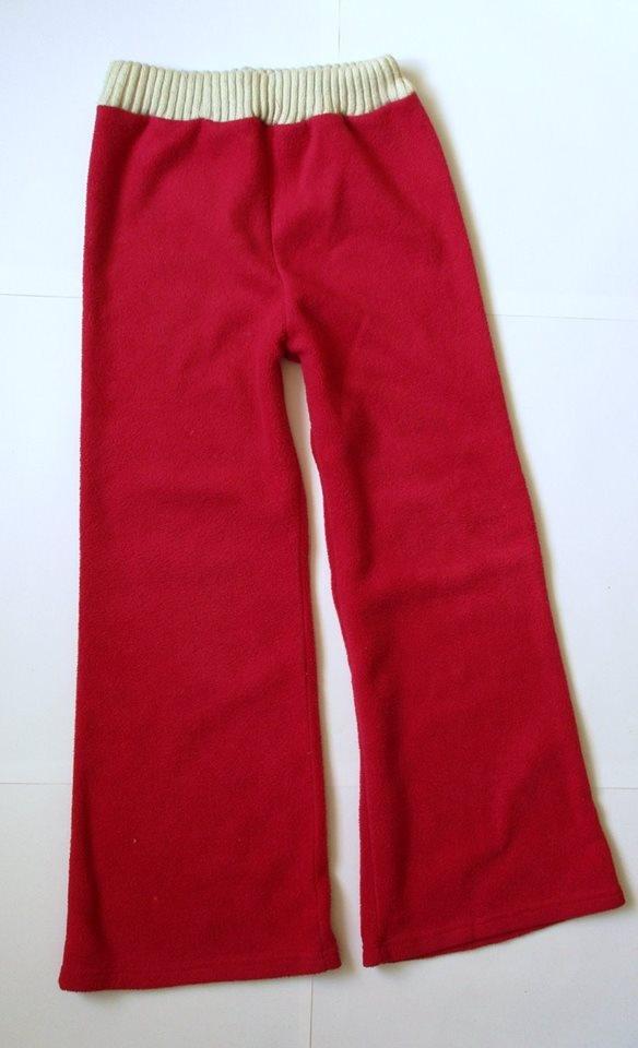 polarowe spodnie na ok 10 13 lat