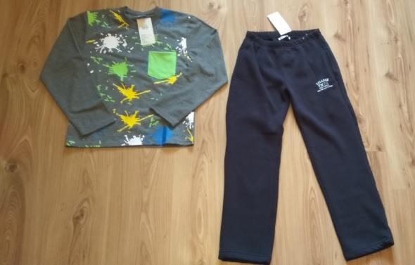 Nowe dresy chłopięce bluza spodnie dresowe 146