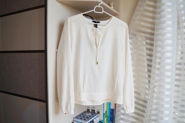 Beżowa elegancka koszula H&M L