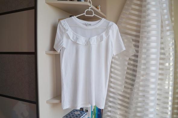 Biała koszulka z siateczką Tally Weijl S