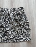spódniczką H&M modne cętki