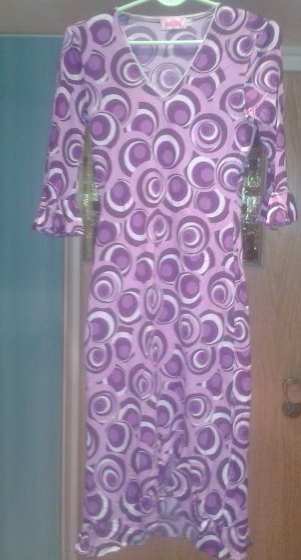 sukienka only wzór...