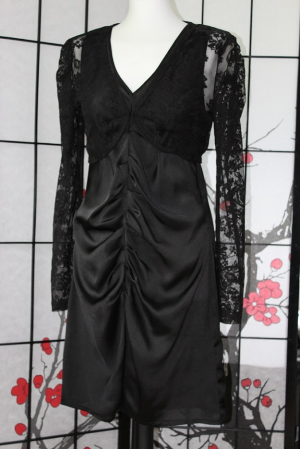 c6a91b626f Suknie i sukienki sukienka suknia czarna elegancki mini mała czarna krótka