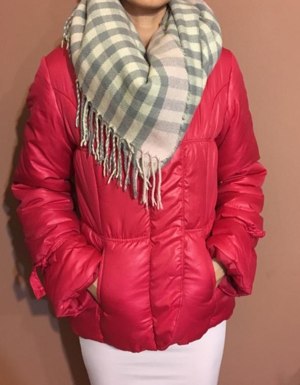 Różowa kurtka zimowa S