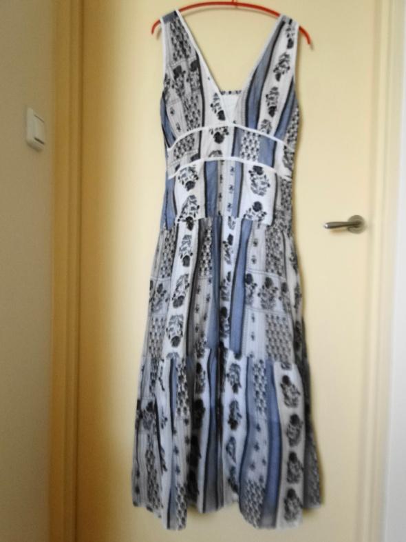 NOWA sukienka na upały cieniutka bawełna 40