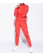 Parisian Komplet Dresowy Spodnie Skinny I Bluza Czerwony