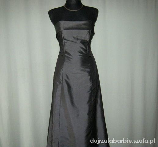 długa suknia S
