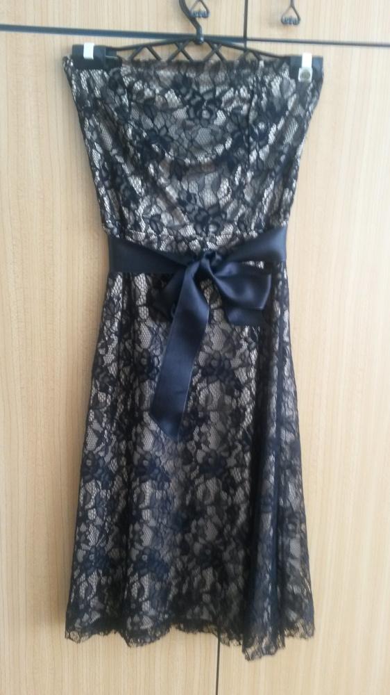 ffb48701d4 Sukienka koronkowa Orsay XS 34 złoto czarna w Suknie i sukienki ...