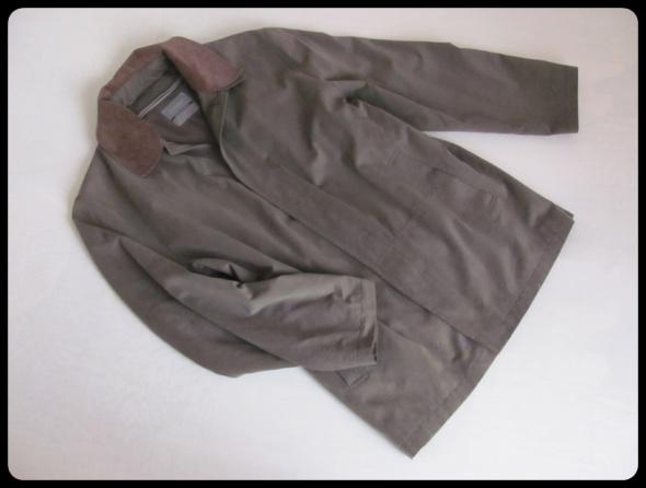 Płaszcz męski kurtka khaki oliwkowa 3XL podpinka