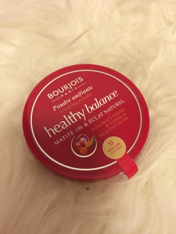 Bourjois helthy mix puder matujący...