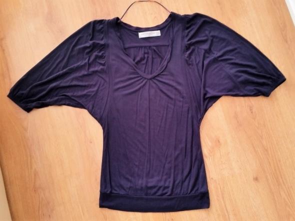 ZARA S 36 fioletowa bluzka nietoperz...