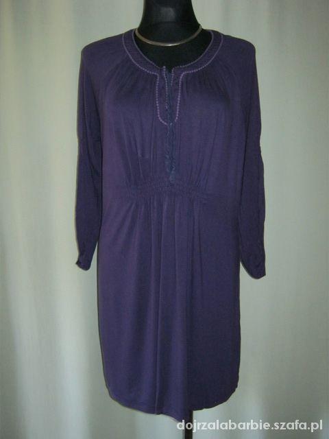 fioletowa sukienka tunika 52