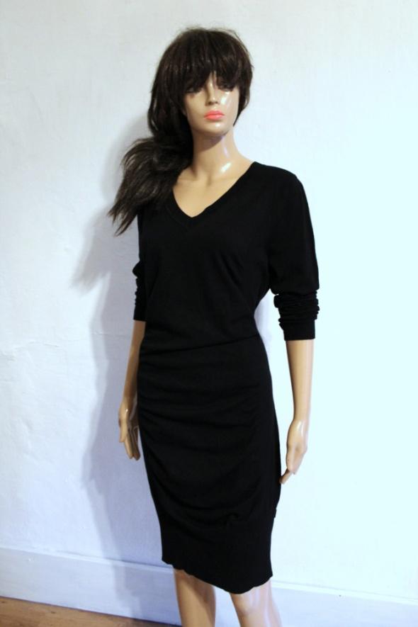 Sukienka dzianinowa długi sweter r XL...