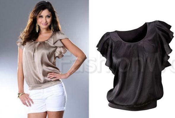 Czarna modna bluzka 38 Bon Prix...