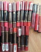 Duzy zestaw NOWE zapakowane szminki pomadki tanio...