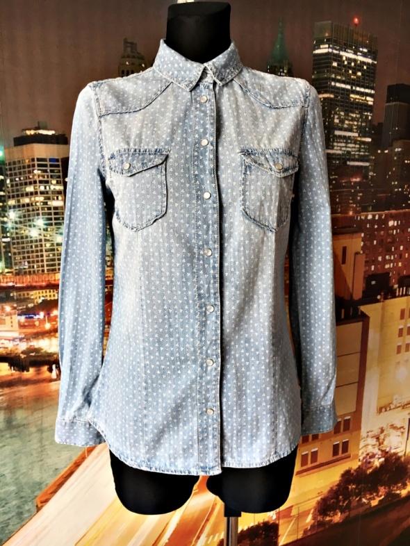 Koszule papaya koszula jeans dżins wzorki hit blog 36