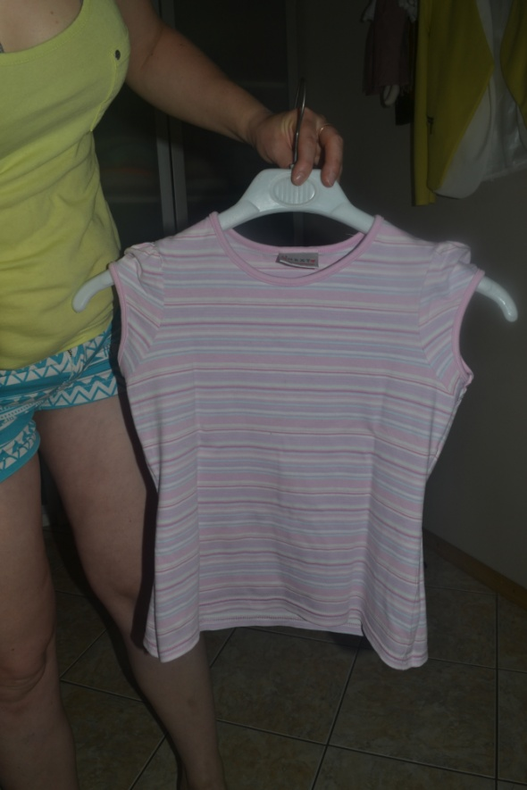 Bluzki Bluzka w paski Next 134cm 140cm 9 10 lat