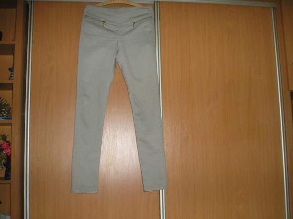 Spodnie złote zamki 38 Vero moda