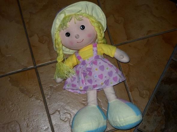 Zabawki duża lalka szmacianka JAK NOWA