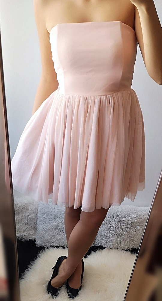 Sukienka rozkloszowana princesska 38 M...