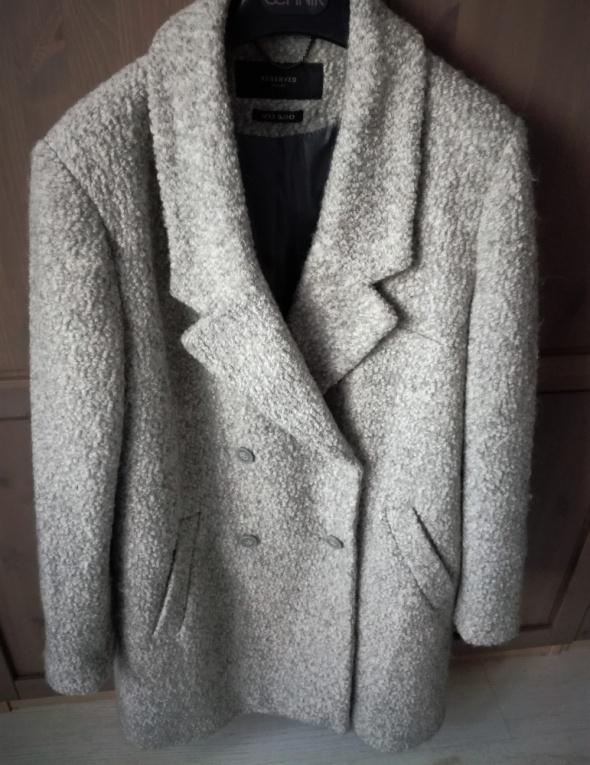 Płaszcz wełniany Reserved 42 XL
