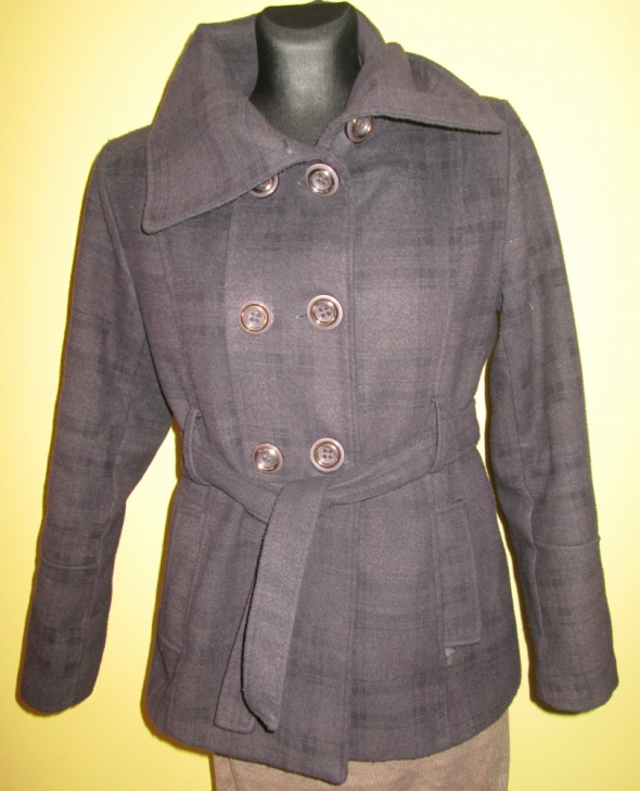 melanżowy płaszcz SM