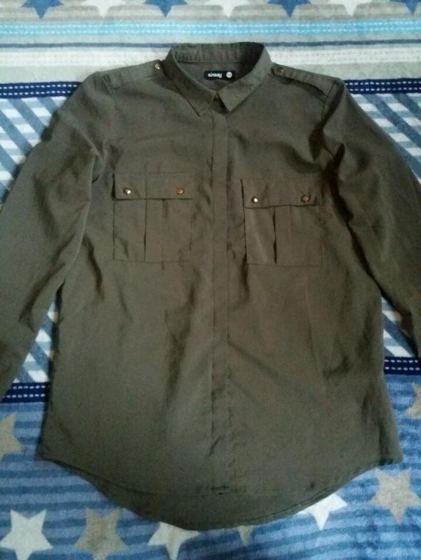 Koszula khaki rozmiar XS