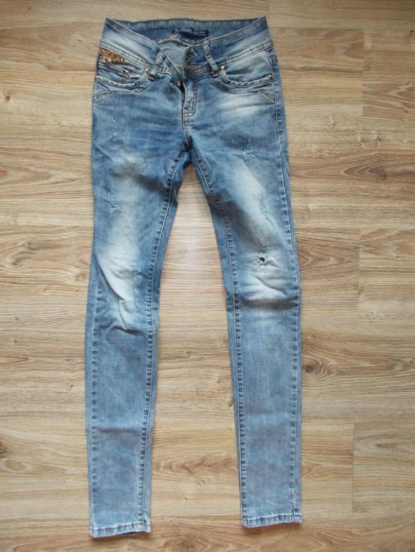 Spodnie dżinowe denim rozmiar XS