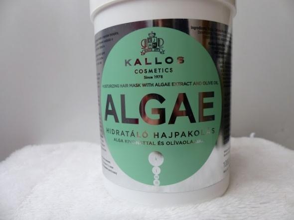 Nawilżająca maska do włosów Kallos Algae 500ml